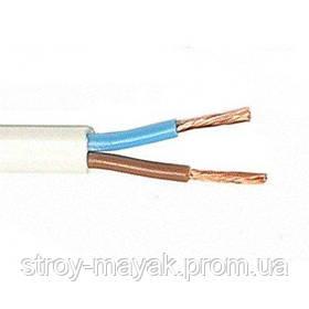 Провод (шнур) соединительный ШВВП 2х0,5 ЗЗЦМ плоский