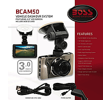 Відеореєстратор BOSS Audio Systems BCAM50. Full HD 1080P
