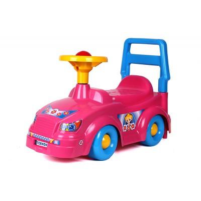 Толокар машинка  3848 ТехноК Рожевий каталка. pro
