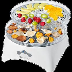 Сушилка для овощей и фруктов Clatronic DR 3525 дегидратор 300 Вт. Германия