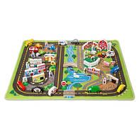 МЕГА-набор Дорожный коврик + Деревянные игрушки Melissa&Doug (MD5195)