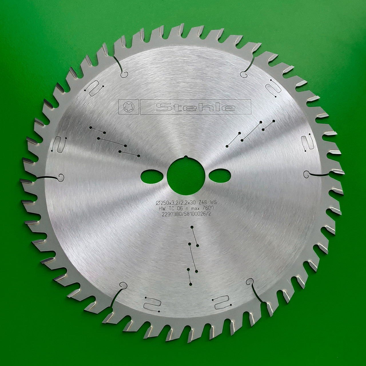 250х3,2х2,2х30 z=48 Пильный диск Stehle по дереву для торцевания и косого реза