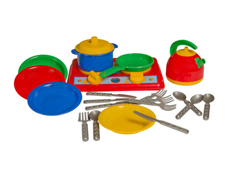 "Кухня ""Галинка 7"" плита, плита, посуд, чайник. pro"