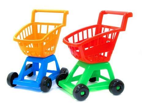 Візок з кошиком, тележка супермаркет Орион. pro