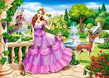 """Пазлы """"Принцесса в саду"""", 100 элементов B-111091 Castorland для детей"""