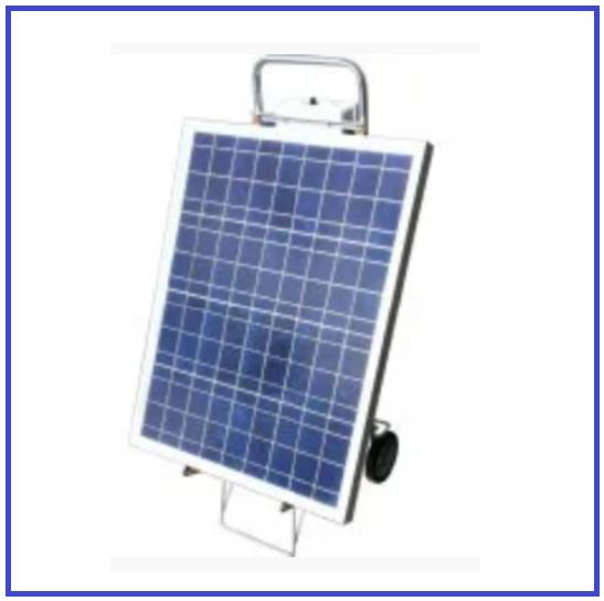 Солнечная станция 100W12V-300W220V мобильная