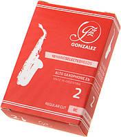 Тростина для альт саксофону Gonzalez Alto Sax RC 2 (10 шт)