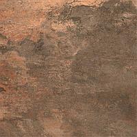 600х600 Керамограніт підлогу Metallica Металіка коричневий