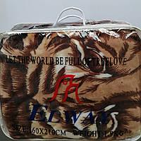 Плед-покрывало из микрофибры Elway тигр