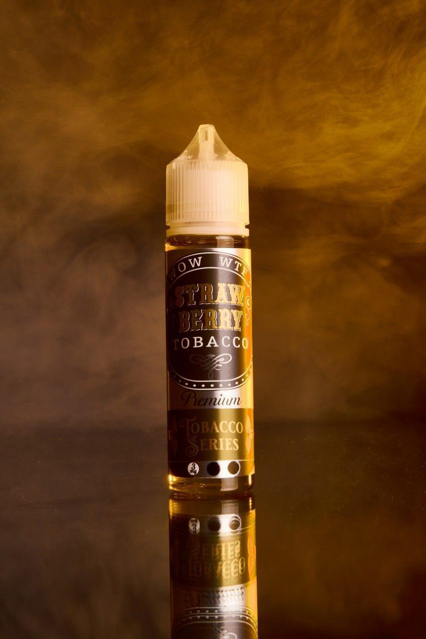 Жидкость WOW WTF - Strawberry Tobacco 60ml