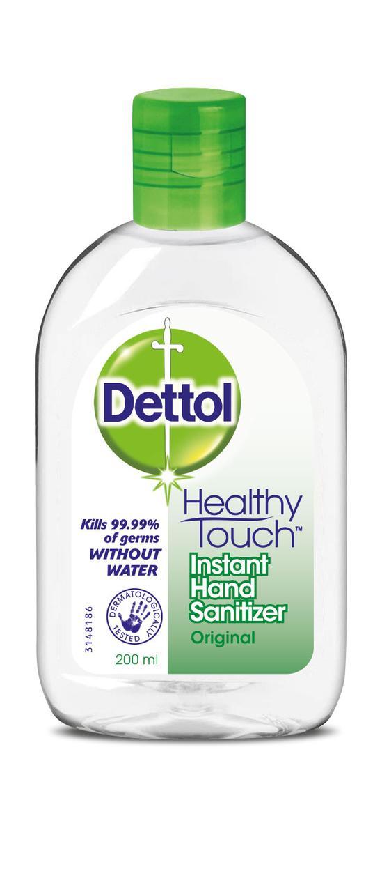 Засіб антисептик для дезінфекції рук Dettol Original 200мл