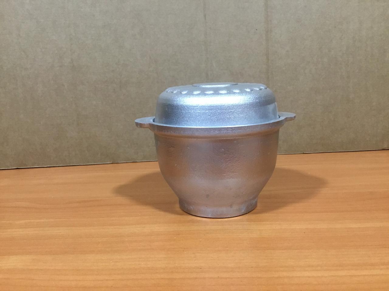 Порційний алюмінієвий казанок 0,5 л