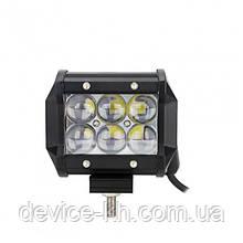 Надежная автофара прожектор SPOT LED (6 LED) 5D-18W