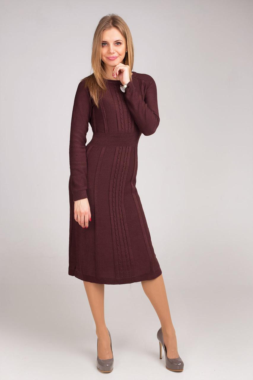 78cde77161d Элегантное платье с расклешенной юбкой офисного стиля от оптово ...