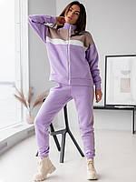 🌺 Теплый спортивный костюм на молнии 3130, фото 1