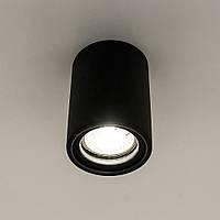 Накладний світильник точковий GYPSUM LINE Bristol R1803 BK (чорний), фото 1