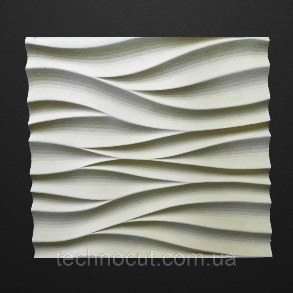 Фрезеровка  мастер модели из мдф для стеновых панелей.