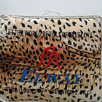Плед-покрывало из микрофибры Elway шкура леопарда