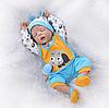Силиконовая Коллекционная Кукла Реборн Reborn Мальчик ( Виниловая Кукла ). Арт.14953