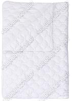 Одеяло 172х205 холлофайбер летнее Merkys белая микрофибра