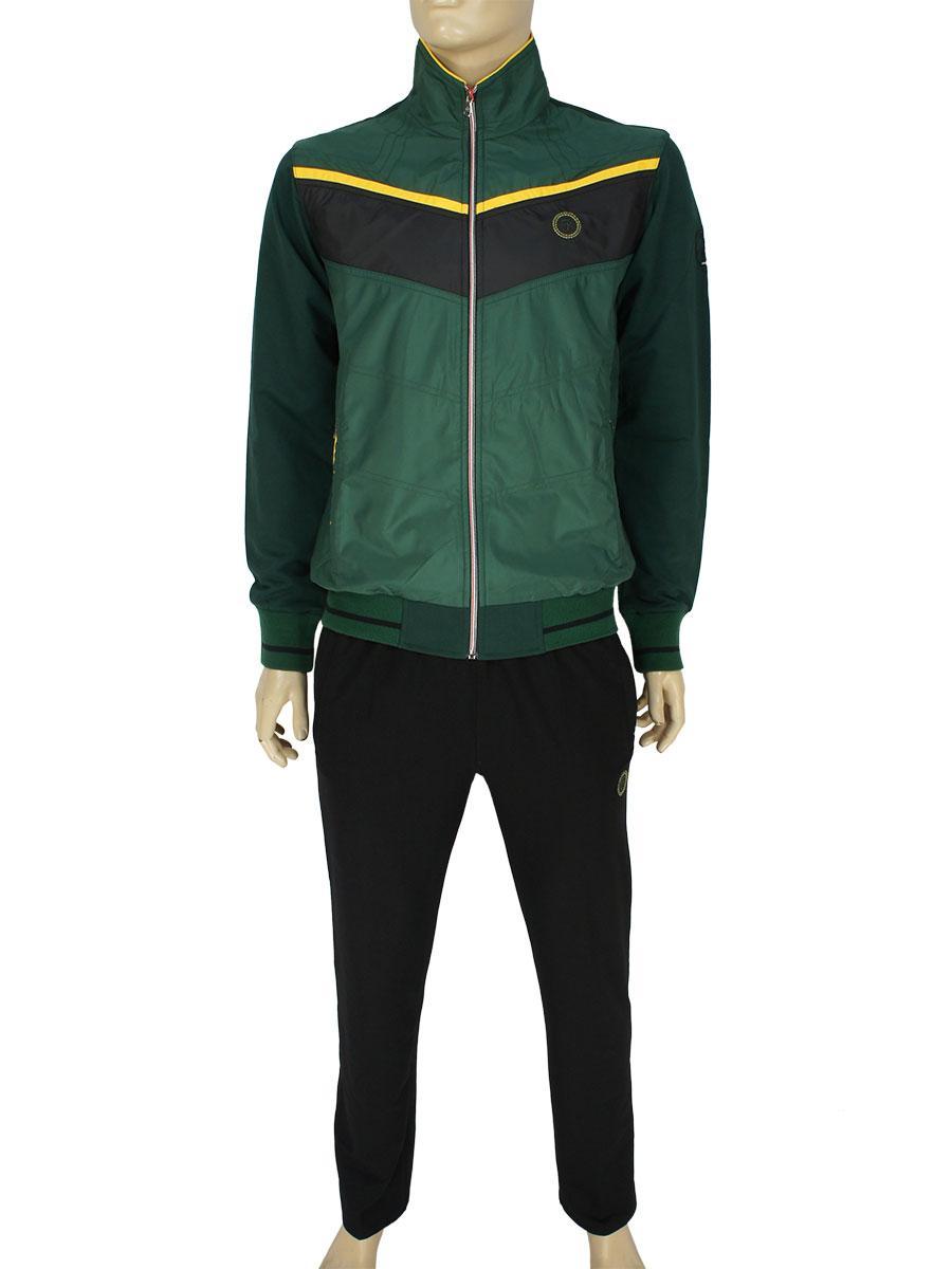 Стильный спортивный костюм Fabiani 3858 B Green для мужчин