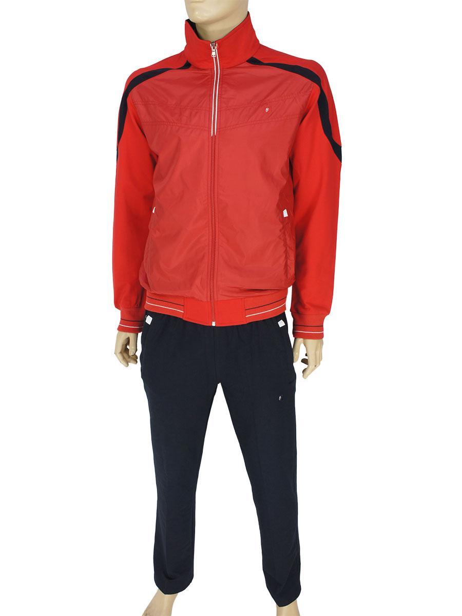Трикотажный спортивный костюм Fabiani 3847 H Red для мужчин