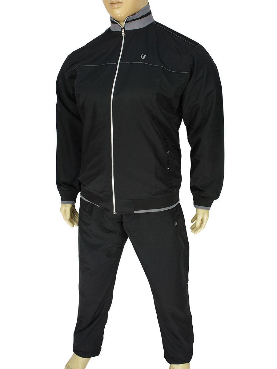 Мужской спортивный костюм Fabiani 590311 Black больших размеров