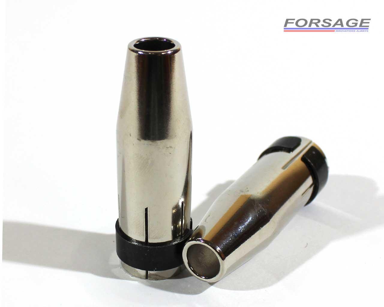 Сопло для сварочной горелки MB-24 Ø9x63,5мм (зауженное)