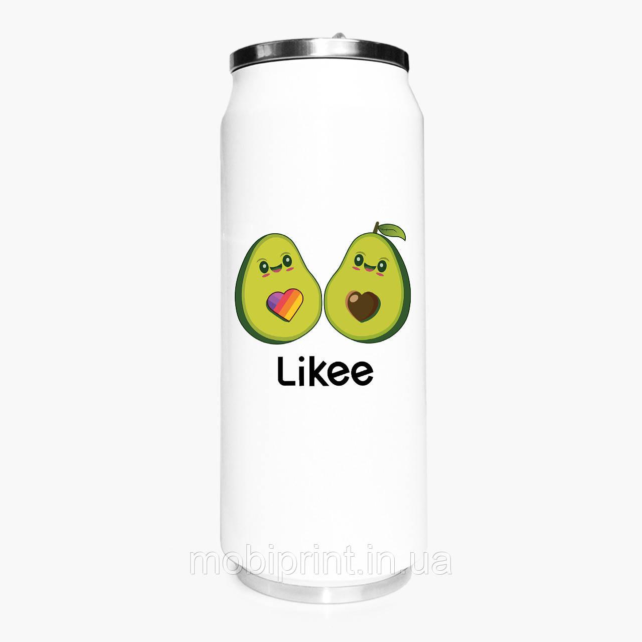 Термобанка Лайк Авокадо (Likee Avocado) 500 мл (31091-1031-1) термокружка из нержавеющей стали