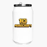 Термобанка Майнкрафт (Minecraft) 350 мл (31091-1171) термокружка з нержавіючої сталі