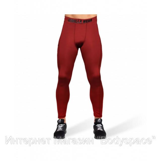 Gorilla Wear, Леггинсы для тренировок Smart Tights Burgundy Red