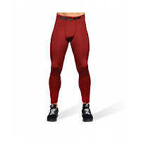 Gorilla Wear, Леггинсы для тренировок Smart Tights Burgundy Red, фото 1