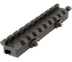Планка Weaver на ИЖ-27, ТОЗ-34 ( на вентилируемые планки 6-10 мм)