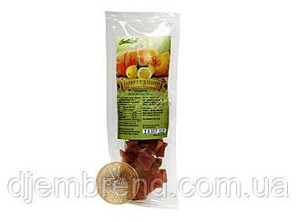 Перекус з в'яленої гарбуза зі смаком лимона 60 гр.