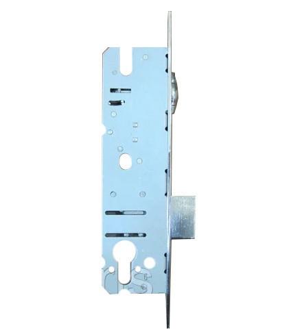 Замок металлопластиковых дверей IQ+ одноточечный (короткий) 16/25 с роликовой защелкой