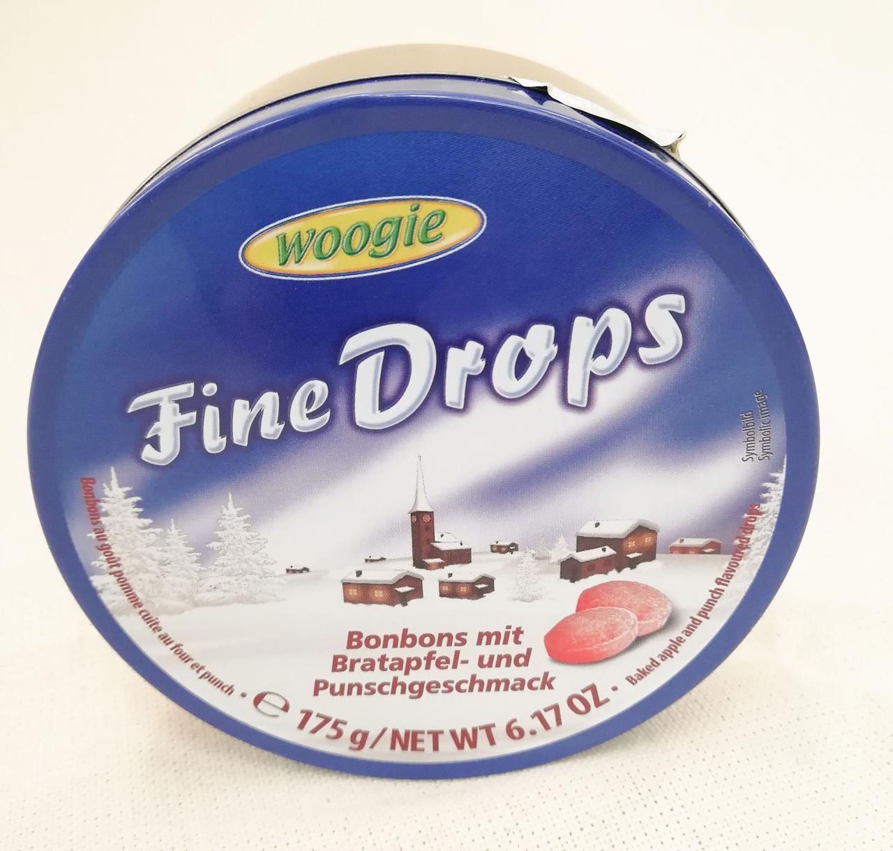 Woogie Fine Drops Bratapfel - und Punschgeschmack