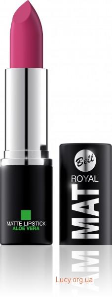 Помада для губ Royal Mat з алое вера Bell 03 (5901812096319)