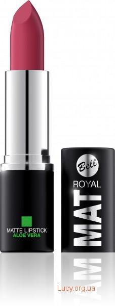 Помада для губ Royal Mat з алое вера Bell 04 (5901812096326)