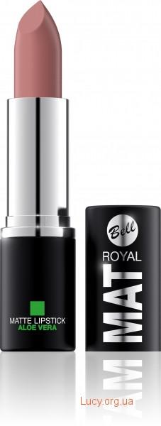 Помада для губ Royal Mat з алое вера Bell  05 (5901812096333)