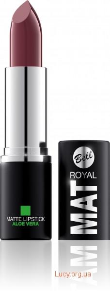 Помада для губ Royal Mat з алое вера Bell 22 (5901812096500)