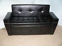 Изящный диван в салон красоты Грейс