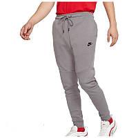 Штаны спортивные мужские Nike NSW Tech Fleece серые