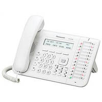 АТС системные телефоны Panasonic KX-DT543RU White (цифровой)