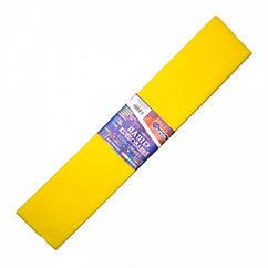 Креп-Бумага 55%, Размер 50*200см, 20г/м2 Желтый
