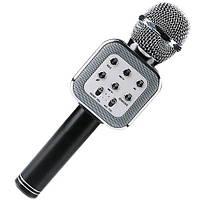 Беспроводной микрофон-караоке WS-1818 Черный, фото 1