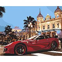 Картина по номерам Идейка «Яркая Феррари» 40x50 см (КНО2515), фото 4