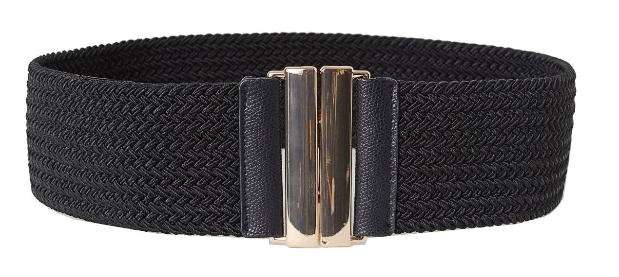Широкий еластичний ремінь, корсет ширина 6,5 см H&M чорний