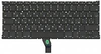 Клавиатура для ноутбука Apple MacBook Air 2011+ (A1369) Black, (No Frame), RU (горизонтальный энтер)