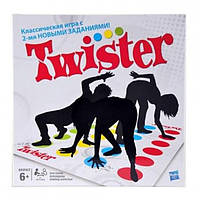 Напольная игра твистер Smart Game Twister 4 цвета обновлённая версия