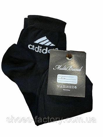 Мужские носки Adidas черные, фото 2